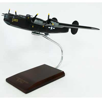B-24J Liberator (Olive) (1:72), TMC Pacific Desktop Airplane Models Item Number AB24ODT