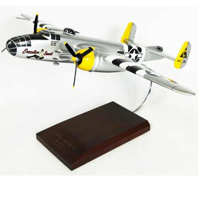 "B-25J Mitchell ""Executive Sweet"" (1:48), TMC Pacific Desktop Airplane Models Item Number AB25EST"