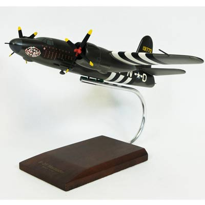 "B-26B/C Marauder ""Flak Bait"" (1:48), TMC Pacific Desktop Airplane Models Item Number AB26BCT"