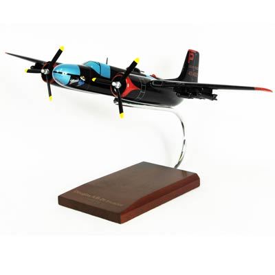 B-26C Invader (1:48), TMC Pacific Desktop Airplane Models Item Number AB26T
