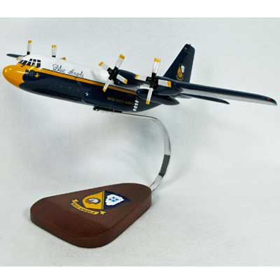 "C-130 ""Fat Albert"" Blue Angels  (1:84), TMC Pacific Desktop Airplane Models Item Number AC130BA"
