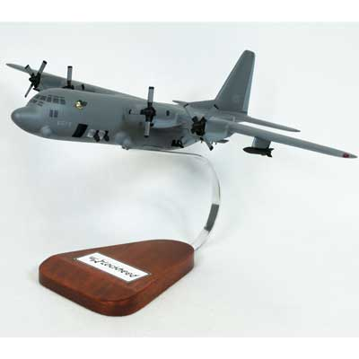 C-130 Hercules Gunship (1:84), TMC Pacific Desktop Airplane Models Item Number AC130GS