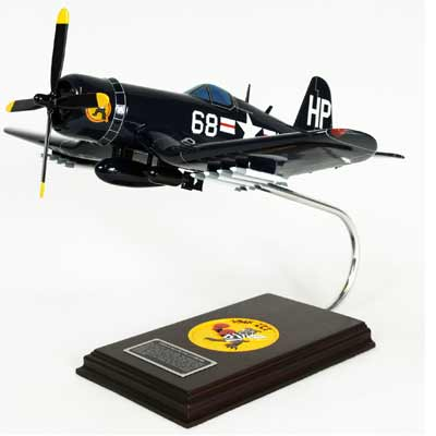 F4U-4 Corsair USN (1:32), TMC Pacific Desktop Airplane Models Item Number AF4U4TE