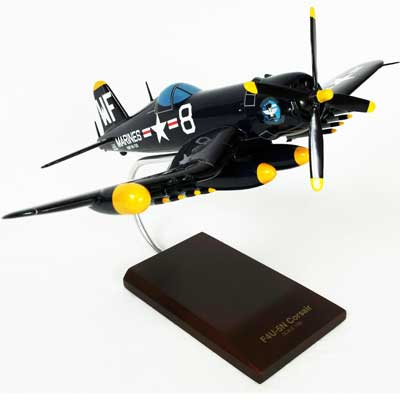 F4U-5NL Nite Corsair (1:32), TMC Pacific Desktop Airplane Models Item Number AF4U5NLT