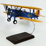 PT-17A Stearman Kaydett (1:22), TMC Pacific Desktop Airplane Models Item Number APT17TS
