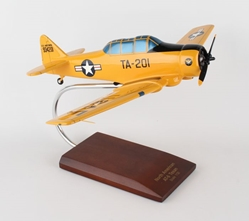 AT-6A Texan I (Yellow) USAF (1:32), TMC Pacific Desktop Airplane Models, Item Number AT06AY1T
