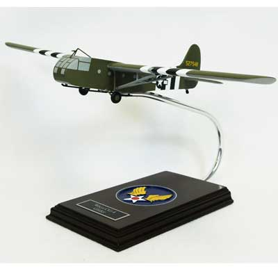 Waco Glider (1:56), TMC Pacific Desktop Airplane Models Item Number AWG