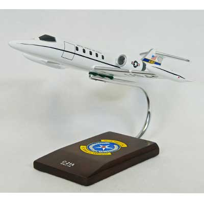 C-21A Learjet (1:48), TMC Pacific Desktop Airplane Models Item Number CC021ATR