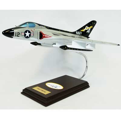 F4D-1 Skyray (1:32), TMC Pacific Desktop Airplane Models Item Number CF004SDTE