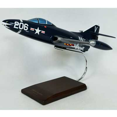 F9F-5 Panther (1:32), TMC Pacific Desktop Airplane Models Item Number CF009NPT