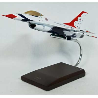 F-16A Thunderbirds (1:48), TMC Pacific Desktop Airplane Models Item Number CF016TTP