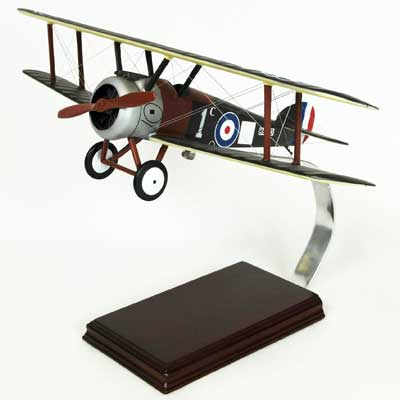 Sopwith Camel WWI Fighter (1:24), TMC Pacific Desktop Airplane Models Item Number FBSCT