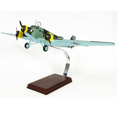 Ju-52 Auntie Ju (1:52), TMC Pacific Desktop Airplane Models Item Number FGJ52TE