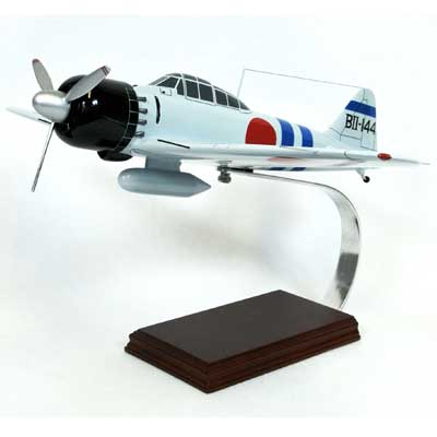 A6M5 Zero (1:24), TMC Pacific Desktop Airplane Models Item Number FJZGTE