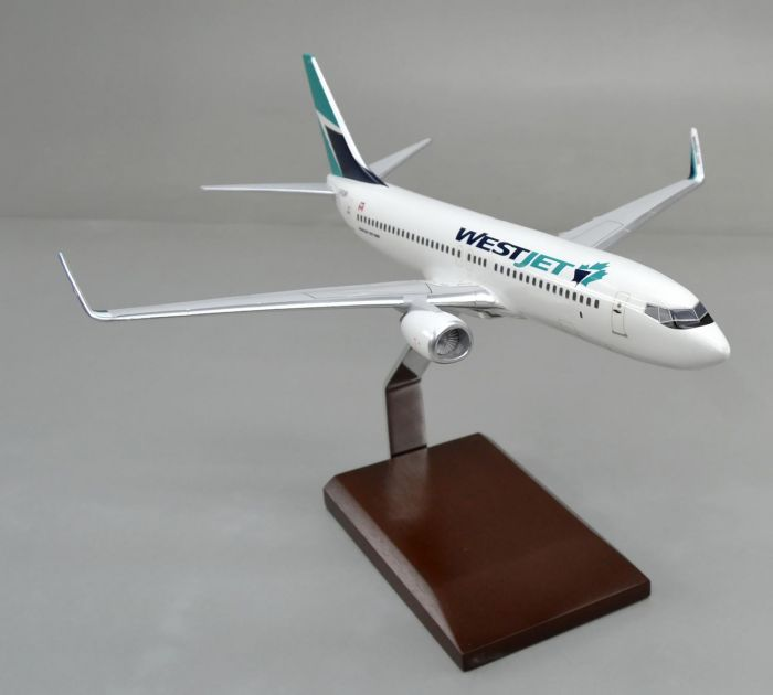 Westjet 737-800 (1:100) New Livery by Executive Series Display Models item number: G55510