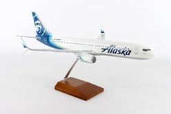 Alaska 737-900ER with Double Scimitar (1:100) New Livery by Executive Series Display Models item number: G60210E