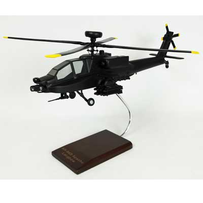 AH-64D Apache Longbow (1:32), TMC Pacific Desktop Airplane Models Item Number HA64DLT