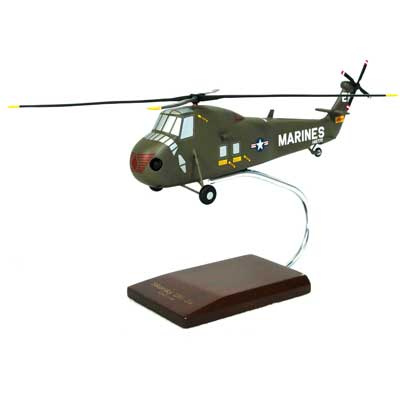 UH-34D Sea Horse (1:48), TMC Pacific Desktop Airplane Models Item Number HUH34DT