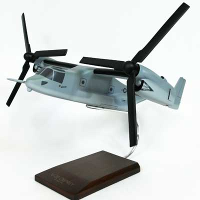 V-22 Osprey USMC Grey (1:96), TMC Pacific Desktop Airplane Models Item Number HV22TR