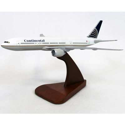B777-200 Continental (1:200), TMC Pacific Desktop Airplane Models Item Number KB7772CATR