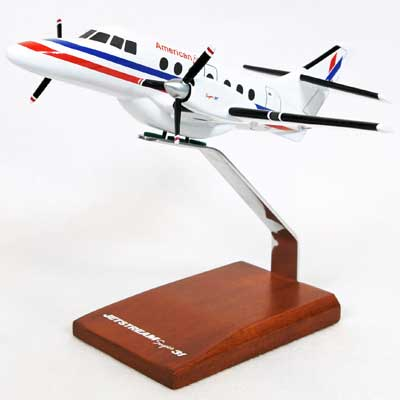 BAE-31A Jetstream American Eagle (1:48), TMC Pacific Desktop Airplane Models Item Number KBAE31AT