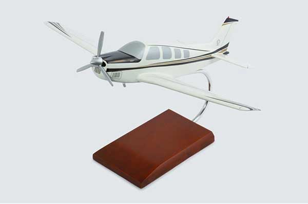 Beechcraft Bonanza G-36 (1:32), TMC Pacific Desktop Airplane Models Item Number KBG36T
