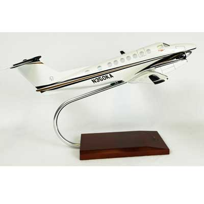 B350 King Air (1:32), TMC Pacific Desktop Airplane Models Item Number KBKAB350TR