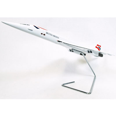 Concorde British Airways (1:100), TMC Pacific Desktop Airplane Models Item Number KBSSTB2TR