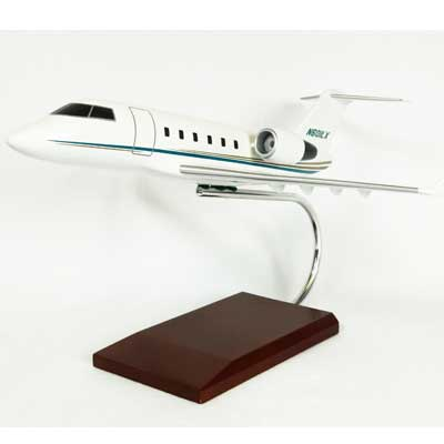 Challenger 601, TMC Pacific Desktop Airplane Models Item Number KC601TR