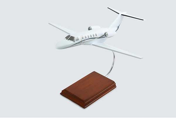Cessna Citation CJ2+ Cessna (1:40), TMC Pacific Desktop Airplane Models Item Number KCCJ2