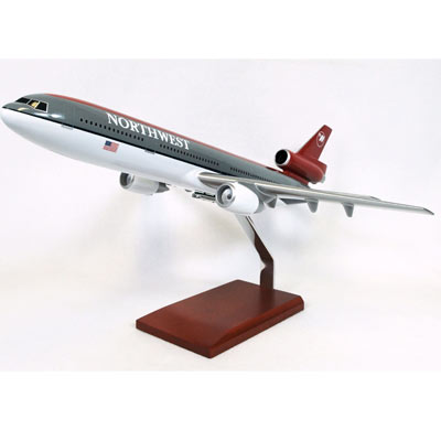 DC-10-30 Northwest (1:100), TMC Pacific Desktop Airplane Models Item Number KDC10NWT