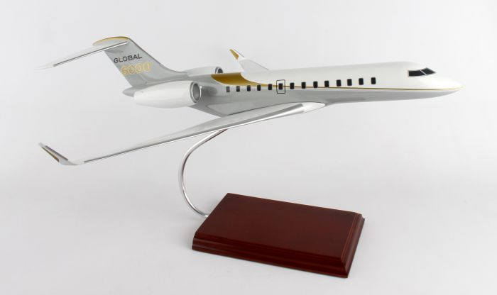 Bombardier Global 6000 1/55 by Executive Series Display Models item number: KG6000TR