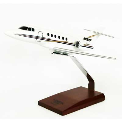 Hawker 800XP Execujet (1:48), TMC Pacific Desktop Airplane Models Item Number KH800TR