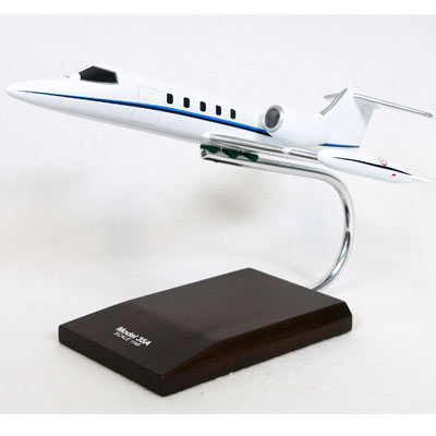 Learjet 35A (1:48), TMC Pacific Desktop Airplane Models Item Number KL35TR