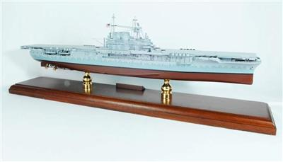 USS Hornet CV-8 (Doolittle) (1:350), TMC Pacific Desktop Airplane Models Item Number MBACHD