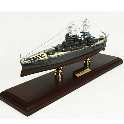 WWII USN U.S.S. Arizona BB-39 (1:350), TMC Pacific Desktop Airplane Models Item Number MBBAZT