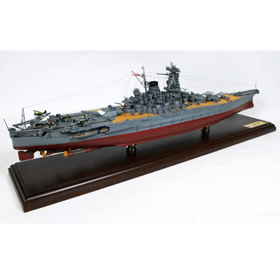 IJN Yamoto (Japan) (1:350), TMC Pacific Desktop Airplane Models Item Number MBBJYT