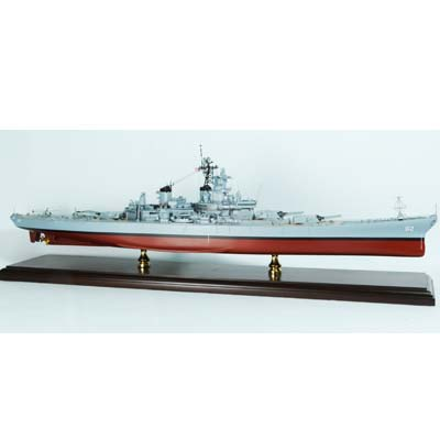USS New Jersey Battleship (1:350), TMC Pacific Desktop Airplane Models Item Number MBBNJ