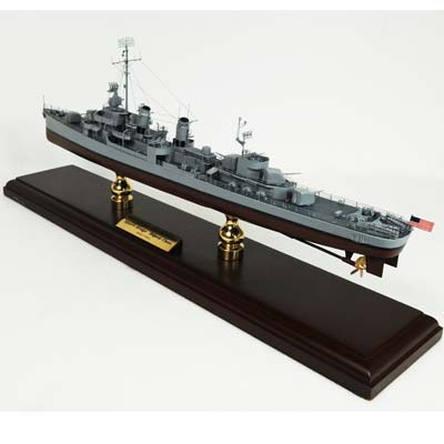 WWII Fletcher Class Destroyer (1:192), TMC Pacific Desktop Airplane Models Item Number MBDFCT