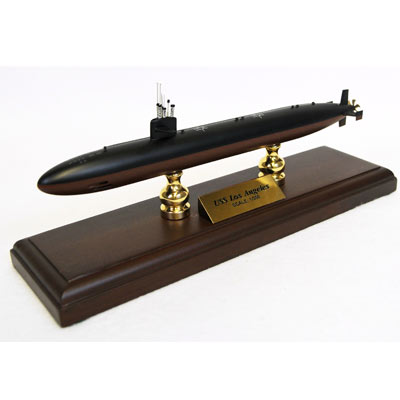 Los Angeles Class Submarine (1:350), TMC Pacific Desktop Airplane Models Item Number MBSLA