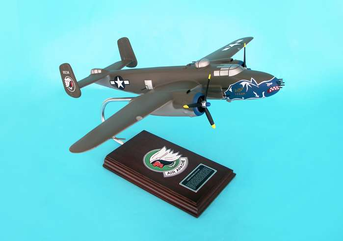 B-25H Mitchell Olive (1:41), Executive Series Display Models Item Number SE0019W