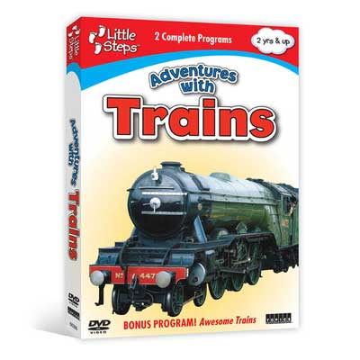 Adventures with Trains (DVD),  Item Number CV-366