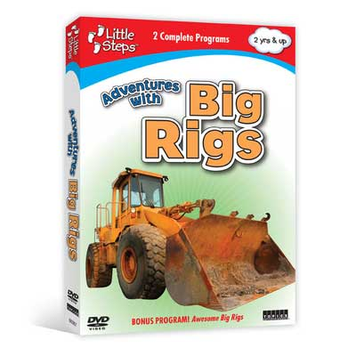 Adventures with Big Rigs (DVD),  Item Number CV-367