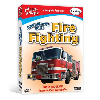 Adventures with Fire Fighting (DVD),  Item Number CV-368