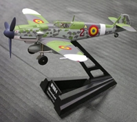 BF-109G-6, Rumanian AF (1:72), Witty Wings Diecast Fighters Item Number WTY72003-02