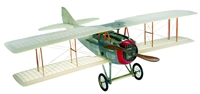 "Transparent Spad  (30"" Wingspan), Authentic Models Item Number AP413T"