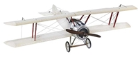 "Sopwith Camel, Large, Transparent (59"" Wingspan), Authentic Models Item Number AP502T"