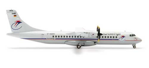 Eurowings ATR-72 (1:200), Herpa 1:200 Scale Diecast Airliners Item Number HE552684