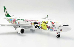 "EVA Air A330-300 ""Sanrio Special"" B-16333 (1:200), JC Wings Diecast Airliners, Item Number JC2EVA155"