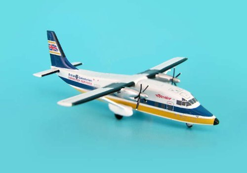 British Caledonian Shorts 360 ~G-BKZR (1:400), JC Wings Diecast Airliners, JC4BCA114